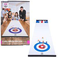 Engelhart Curling-Shuffleboard 180x39 cm