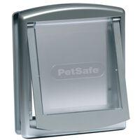 PetSafe 2-Wege-Haustierklappe 737 Klein 17,8x15,2 cm Silber 5019