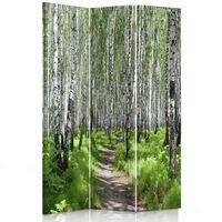 Paravent - Raumteiler Forest Walk 110x150 (3 X)