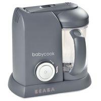 Beaba 4-in-1 Baby-Küchenmaschine Babycook Solo 1100 ml Dunkelgrau
