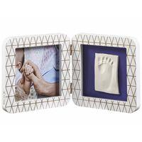 Baby Art My Baby Touch Bilderrahmen mit Abdruck-Set Weiß 3601092400