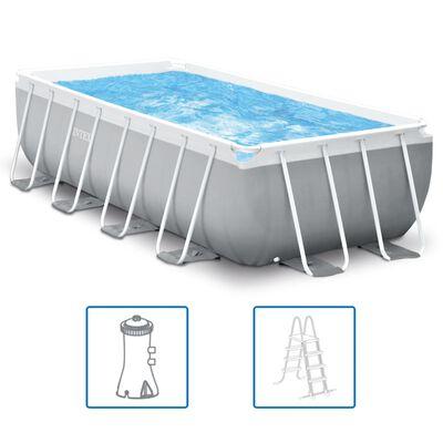 Intex Swimmingpool-Set Prism Frame Rechteckig 400 x 200 x 100 cm