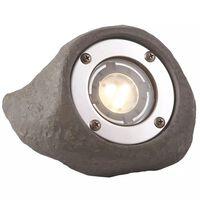 Garden Lights LED-Strahler Lapis Grau Polyresin 3577441