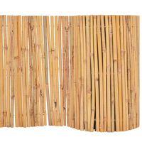 vidaXL Gartenzaun Bambus 500 x 50 cm