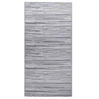 vidaXL Outdoor-Teppich Grau 80x150 cm PP