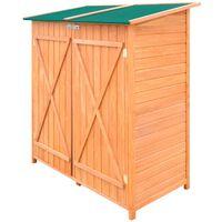 vidaXL Geräteschuppen Holz Groß