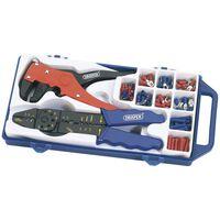 Draper Tools Crimpzange und Abisolierzange Set Stahl 33079