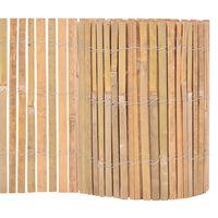 vidaXL Gartenzaun Bambus 1000×30 cm