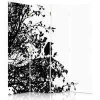 Paravent - Raumteiler Forest Silhouette 145x180 (4 X)