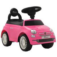 vidaXL Kinder-Aufsitzauto Fiat 500 Rosa