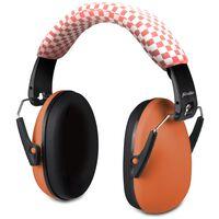 Alecto Gehörschutz für Babys und Kleinkinder BV-71OE Orange Schwarz
