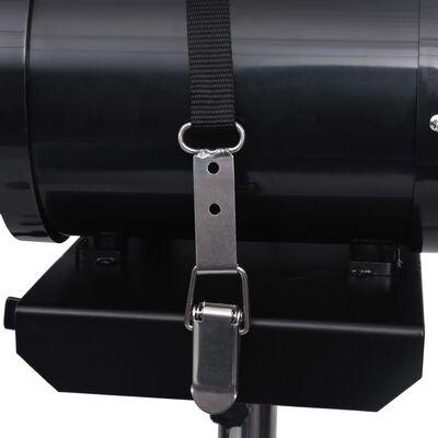 vidaXL Einstellbarer Haustier-Haartrockner-Ständer Doppelmotor Schwarz