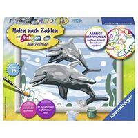 Ravensburger Malen nach Zahlen 28468 - Freundliche Delfine