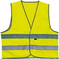 Warnweste 2 Stripes Unisex Gelb Größe XL