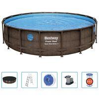Bestway Power Steel Swimmingpool-Set 549x122 cm