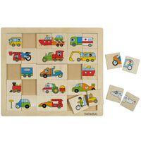 Beleduc Match & Mix Puzzle Transport 11007