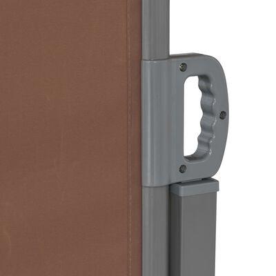 vidaXL Ausziehbare Seitenmarkise 160×600 cm Braun