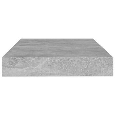 vidaXL Bücherregal-Bretter 8 Stk. Betongrau 100x10x1,5 cm Spanplatte
