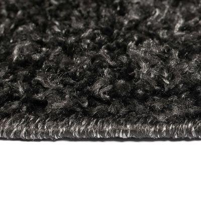 vidaXL Shaggy-Teppich 160 x 230 cm Anthrazit , Anthrazit