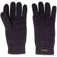 gestrickte Handschuhe gepolsterte Größe L schwarz