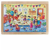 Beleduc Rahmenpuzzle Geburtstagsparty 12003