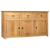 vidaXL Sideboard 135 x 40 x 80 cm Massivholz Panama-Kiefer