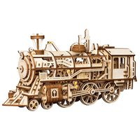 Robotime Mechanisches Modell Locomotive Holz