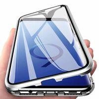 Magnetische Hülle Für Samsung Galaxy S9 - Silber