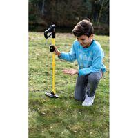 NATIONAL GEOGRAPHIC Metalldetektor für Kinder mit abnehmbarer LED-Leuc