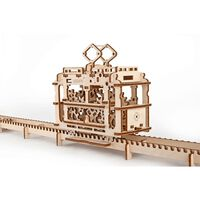 Ugears Holzbausatz - Straßenbahn