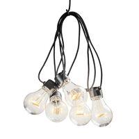 KONSTSMIDE Party-Lichterkette 10 Lampen Verlängerung-Set Extra-Warm