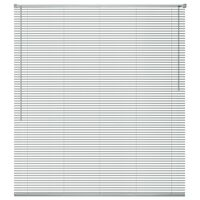 vidaXL Fensterjalousien Aluminium 60x220 cm Silber