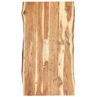 vidaXL Tischplatte Massivholz Akazie 120x(50-60)x3,8 cm
