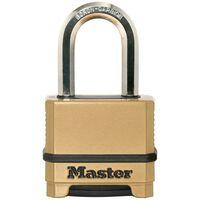 Master Lock Vorhängeschloss Excell Zink 56 mm Bronze M175EURDLF
