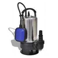 vidaXL Schmutzwasser Tauchpumpe 750 W 12500 L/h
