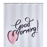 RIDDER Duschvorhang Good Morning 180 x 200 cm