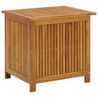 vidaXL Garten-Aufbewahrungsbox 60x50x106 cm Massivholz Akazie