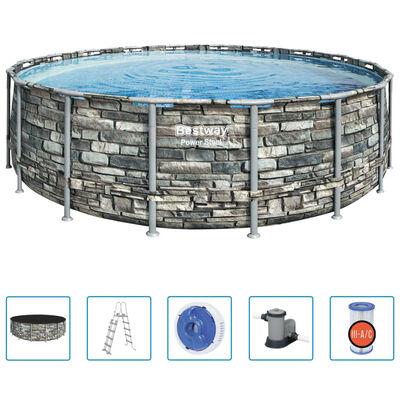 Bestway Power Steel Swimming Pool 549x132 cm