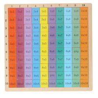 Marionette Mathespiel - Einmaleins - 100 Stück - Holz
