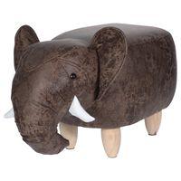 Home&Styling Hocker 64×35 cm Elefanten-Design