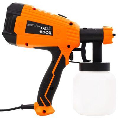 vidaXL Elektrische Farbspritzpistole mit 3 Düsengrößen 500 W 800 ml,
