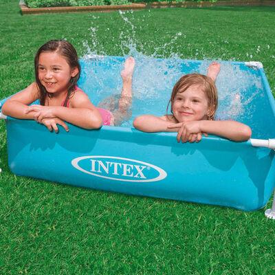 Intex Schwimmbecken Mini Frame 122 x 122 x 30 cm 57173NP,