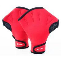 Schwimmen Handschuhe unisex rote Größe S