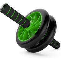 Bauchräder Für Das Bauchmuskeltraining Schwarz / Grün - Schnelle Li