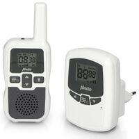 Alecto Babyphone DBX-80 mit Großer Reichweite Weiß und Anthrazit
