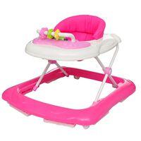 Babywalker Lauflernhilfe Gehfrei pink