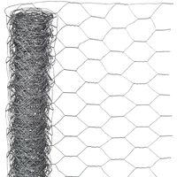 Nature Sechseckgeflecht 1x5 m 13 mm Verzinkter Stahl