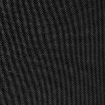 vidaXL Sonnensegel Oxford-Gewebe Dreieckig 4x4x4 m Schwarz