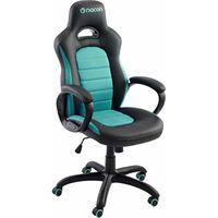 Nacon Gaming-Stuhl, Kunstleder, Schwarz und Blau, 78.5 x 32.5 x 66 cm