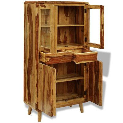 vidaXL Sideboard Massivholz 90×40×175 cm,